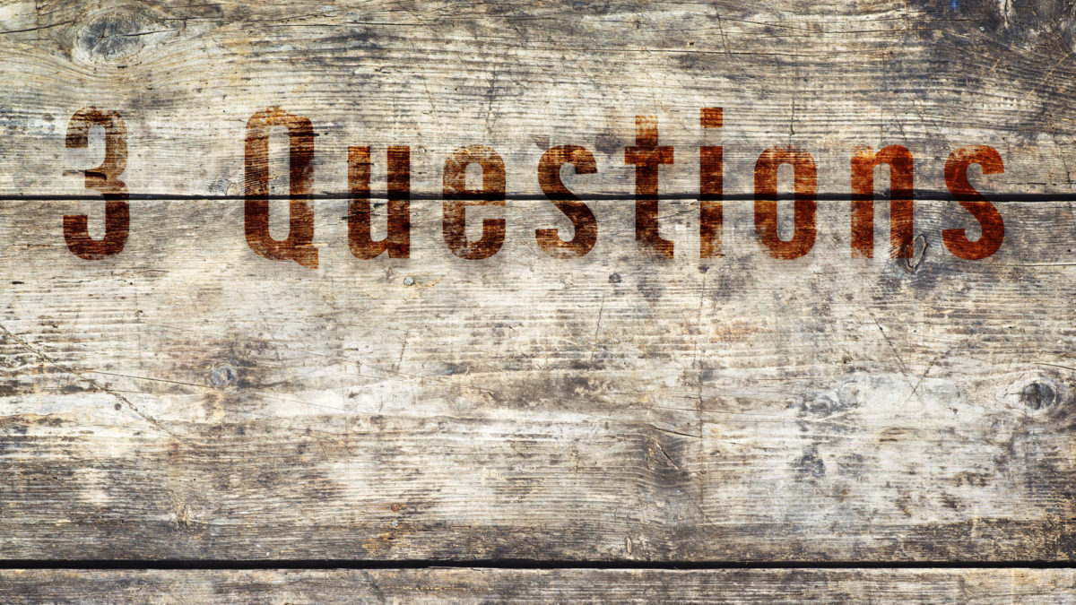 3 Questions you NEED to answer today to succeed in businesses and avoid failure.